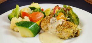 Russo's Chicken Spiedini - lemon bianco sauce